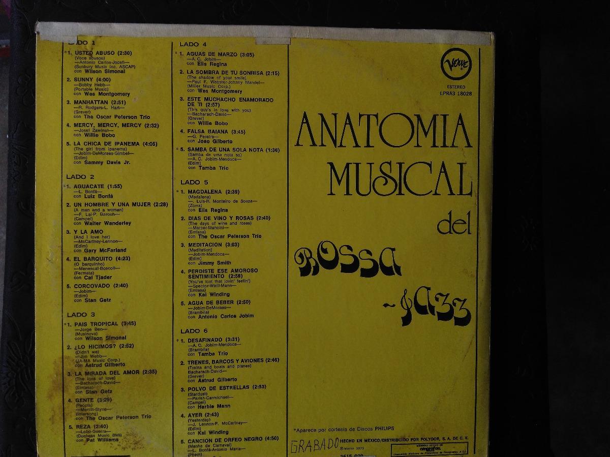 Disco De Vinilo De Bossa-jazz / Anatomia Musical - $ 400.00 en ...