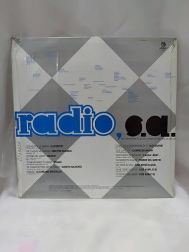 disco de vinilo de la semana nacional de la radio y la telev