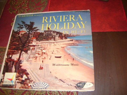 disco de vinilo dàrtega presents riviera holiday in hi fi