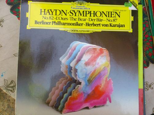disco de vinilo haydn symphonien
