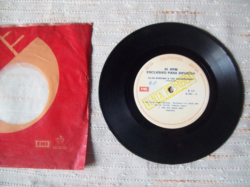 disco de vinilo simple de illya kuryaki & the valderramas