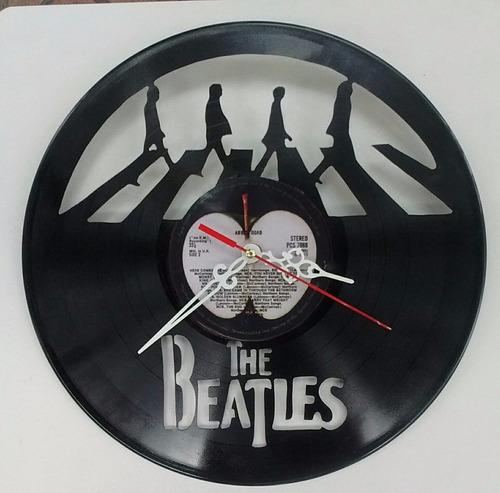 disco de vinilo the beatle  arte decoracion
