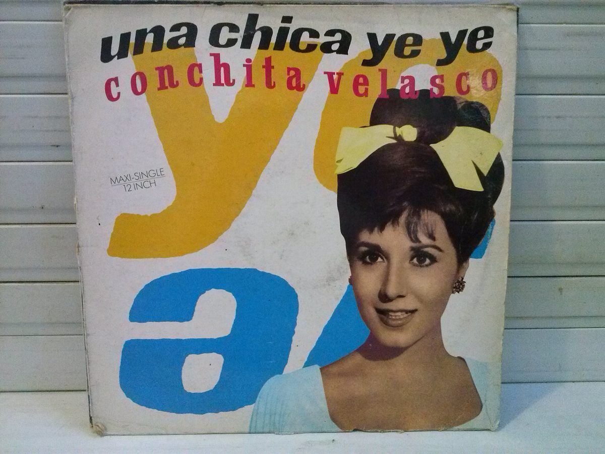 Disco De Vinilo Una Chica Ye Ye Conchita Velasco 250 00
