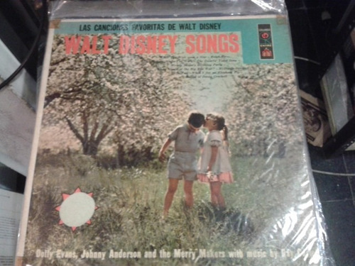disco de vinilo walt disney songs canciones  ¬ la plata