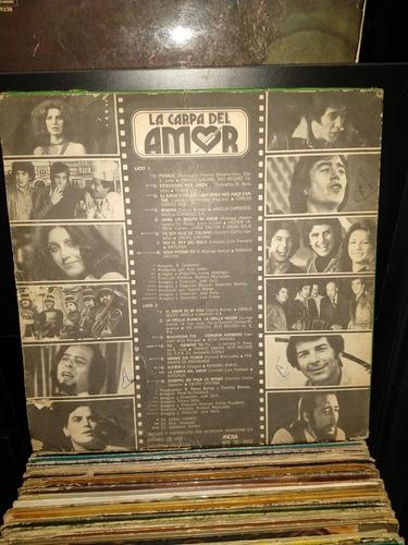 disco de vinilo,la carpa del amor