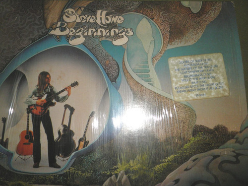 disco de vinyl importado de steve howe - beginnings (1975)