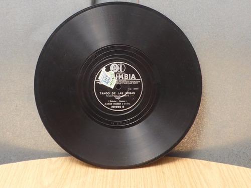 disco de vitrola: celos / tango de las rosas - marek weber