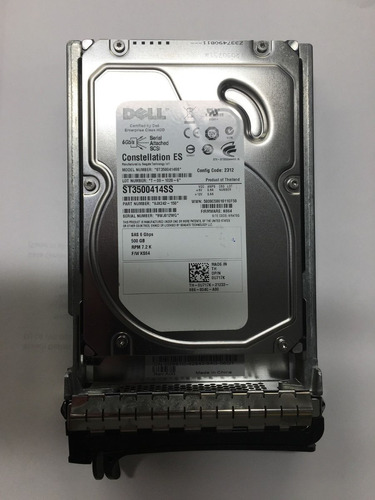 disco dell seagate st3500414ss 500gb 3.5 0u717k u717k