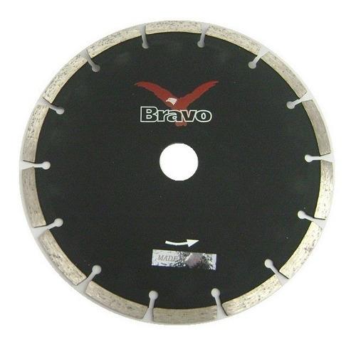 disco diamantado 230mm bravo segmentado sg-9 de aliafor