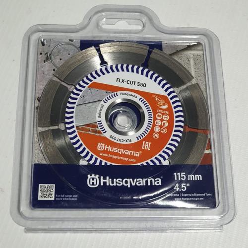 disco diamantado 4-½  segmentado husqvarna multimaterial