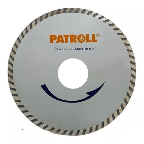 disco diamantado aliafor patroll turbo fino pt- 4.5 115 mm