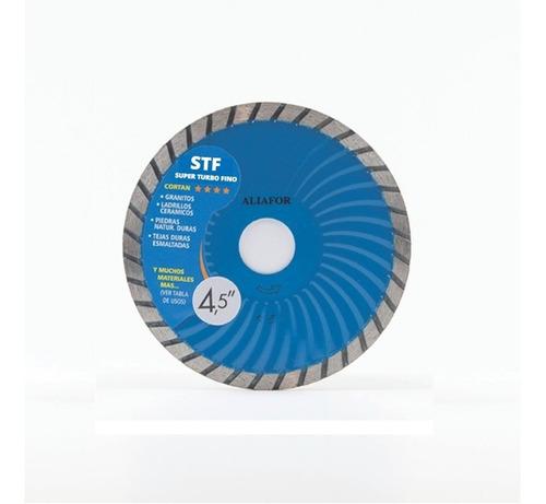 disco diamantado aliafor str super turbo 115 mm str 4,5