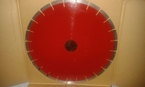 disco diamantado de 14  segmentado color rojo para granito