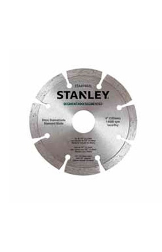 disco diamantado segmentado stanley sta47702l