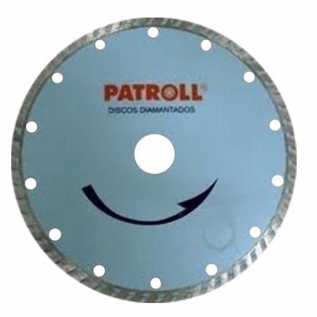 disco diamantado turbo 180 mm patroll pt-7 turbo de aliafor