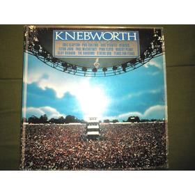 Disco Doble En Vinyl 12'' Importado De Knebworth Live (1990)
