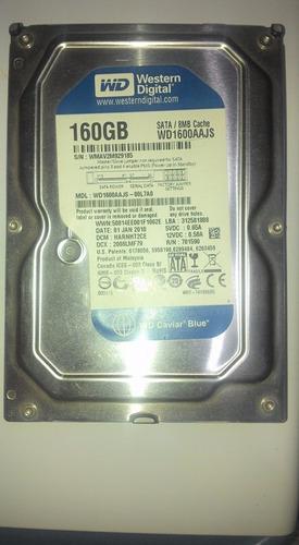 disco duro 160 gb sata 3.5 western digital pc crystaldisk