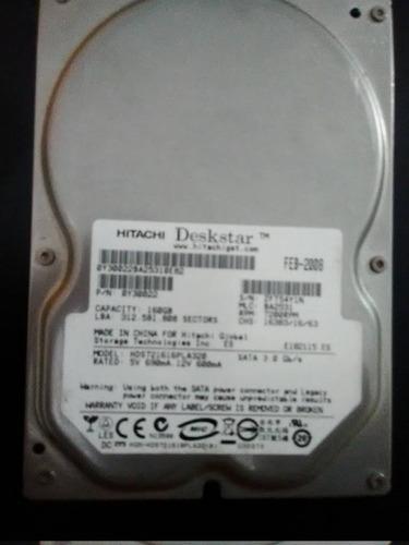 disco duro 160gb  samsung - hitachi sata