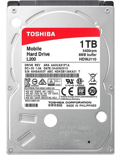 disco duro 1tb hdd toshiba para laptop
