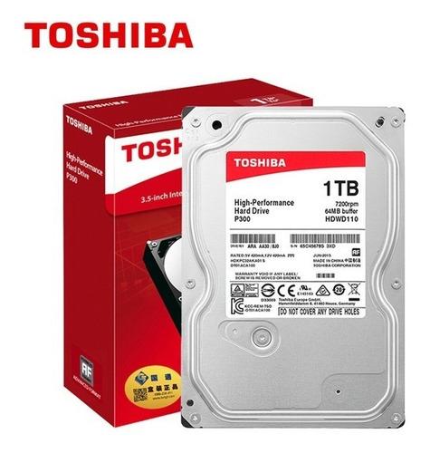 disco duro 1tb pc toshiba 7200 rpm iva inclu p300 caja sata