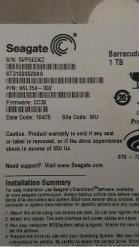 disco duro 1tb seagate, 1000 gb dektop