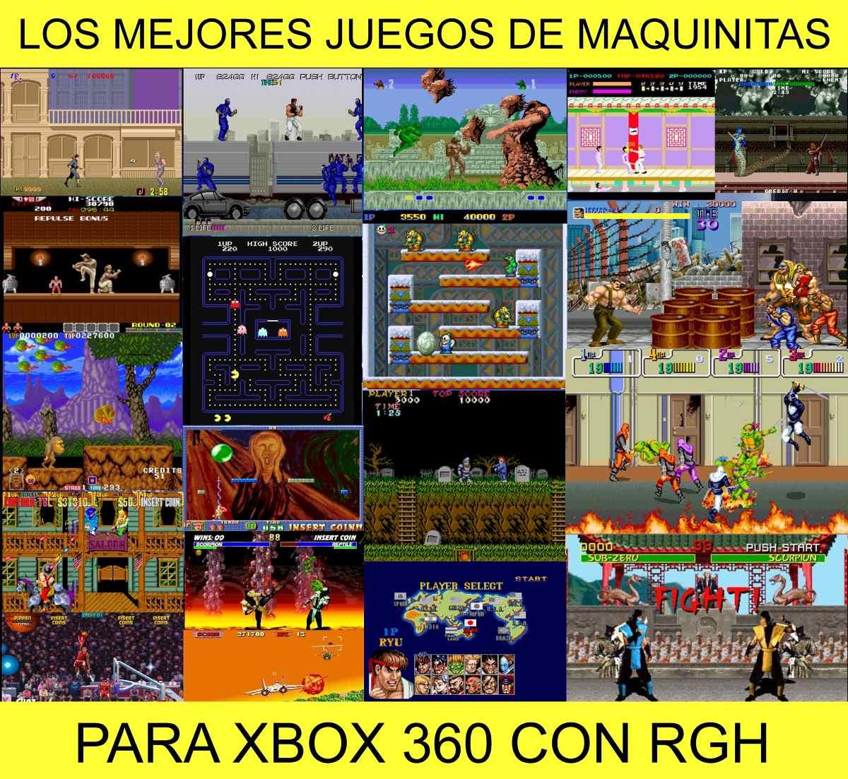 Juegos Xbox Clasico En Xbox 360 Rgh Vinny Oleo Vegetal Info