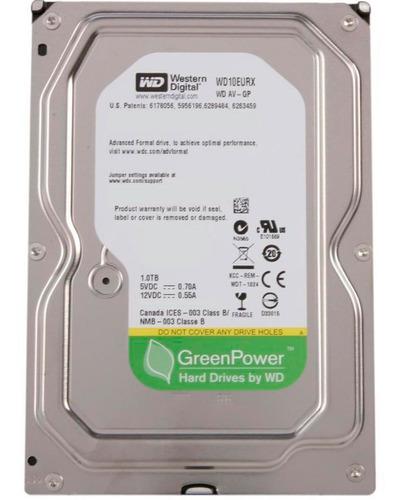 disco duro 1tb wester digital new pull wd10eurx-63 3.5  hdd