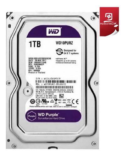 disco duro 1tb western digital purple purpura para dvr nuevo