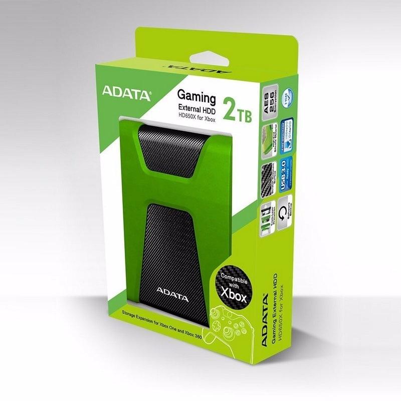 Disco duro 2 tb adata hd650x externo usb 3 0 xbox one y for Ssd esterno xbox one