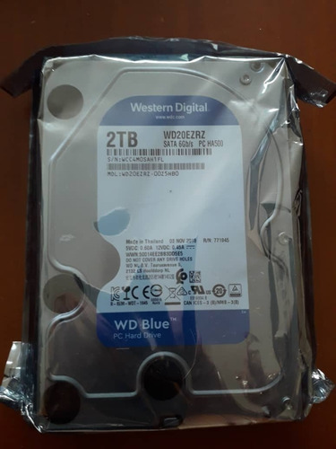 disco duro 2 tb sata 3.5 western digital dvr y pc nuevo