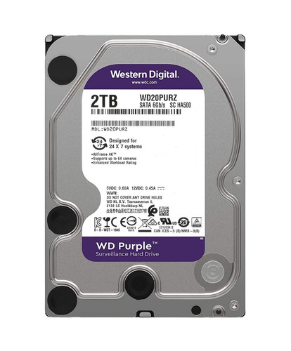 disco duro 2 tb wester digital purple wd20purz para pc nuevo