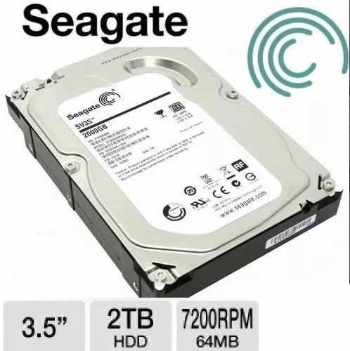 disco duro 2 teras sata 3.5  para pc y dvr inc.iva