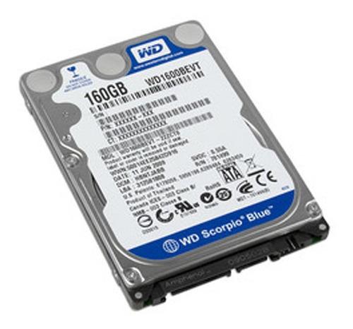disco duro 2.5 160gb sata 2 wd