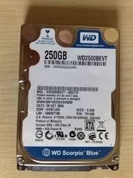 disco duro 250 portátil. sata garantizados 100%