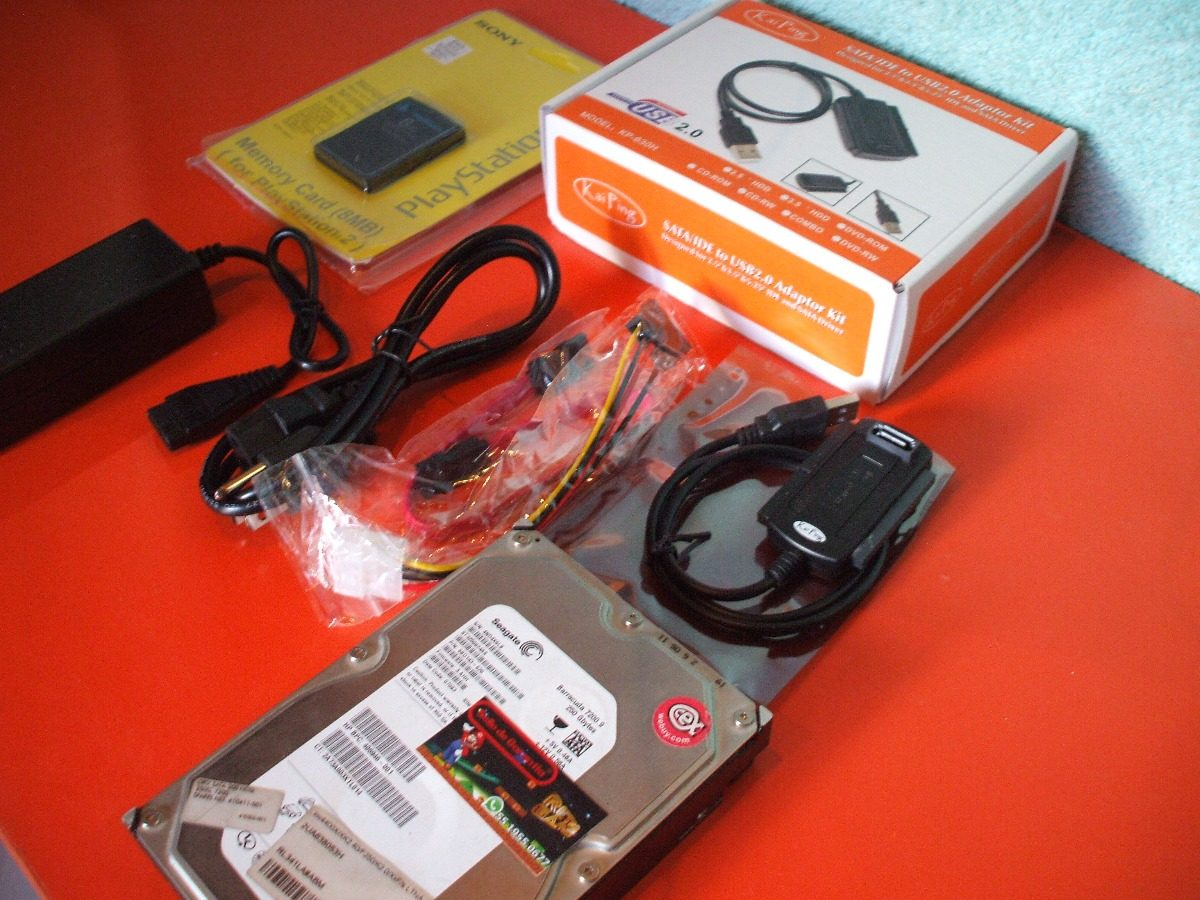 Disco Duro 250gb +playstation 2 Slim Ps2 Fat Rgs -   1 1842e081df5ca