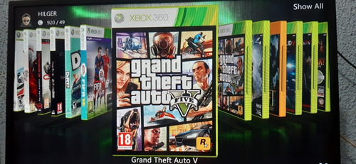 disco duro 320gb con 30 juegos xbox360 con rgh