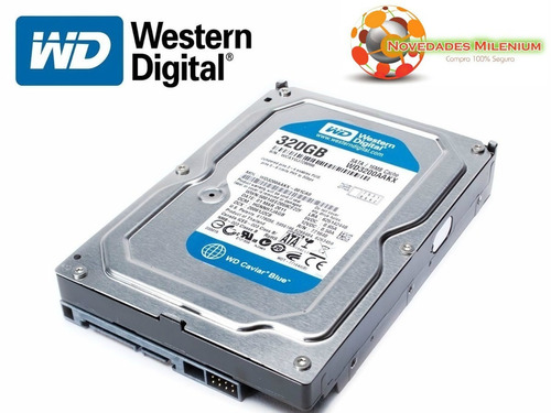 disco duro 320gb sata 3.5 para pc y dvr inc. iva