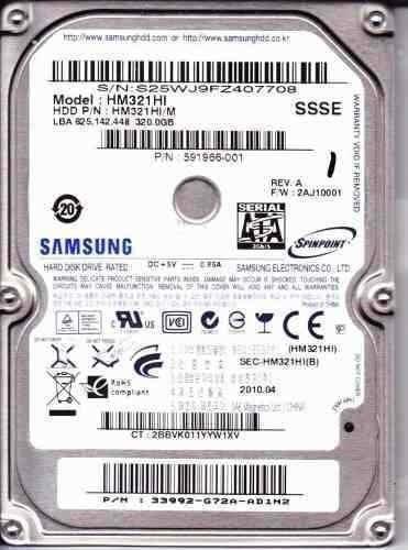 disco duro 320gb sata laptop 2.5 5400rpm sellado de fabrica!