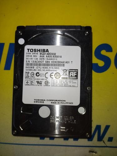 disco duro 320gb toshiba notebook/netbook