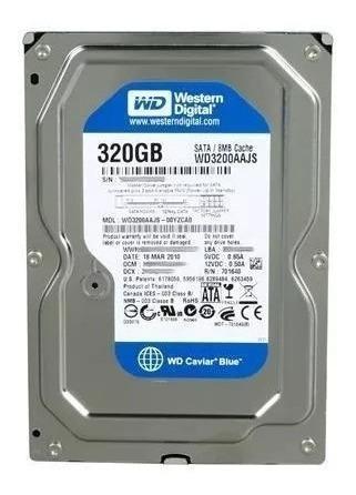 disco duro 320gb western digital 3.5 sata pc 8694