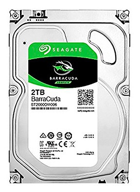disco duro 3.5 2tb sata 3 seagate barracuda - tecsys