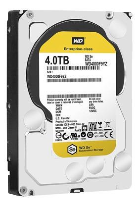 disco duro 3.5 4tb sata6 wd yellow rpm intellipower - tecsys