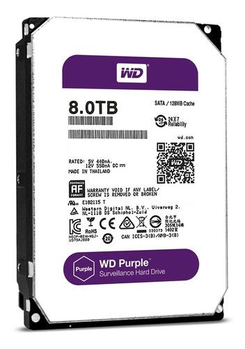 disco duro 3.5  wd purple 8tb sata3 intellipower