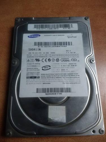 disco duro 40gb ide samsung