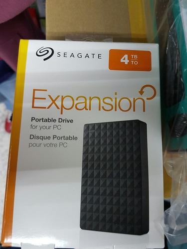 disco duro 4tb seagate expansión nuevo