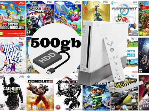 disco duro 500gb 325 juegos de wii. envio gratis. oferta