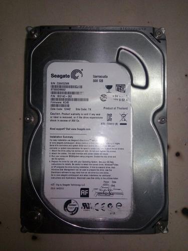 disco duro 500gb pc computadora dvr sata poco uso