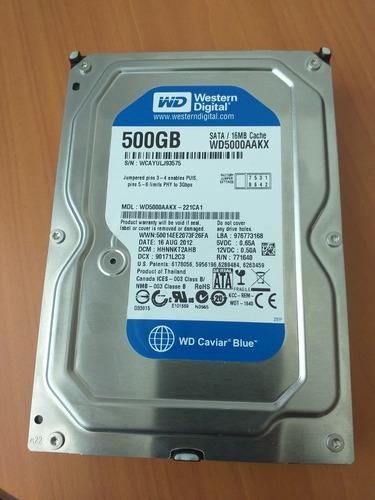 disco duro 500gb sata pc dvr wd