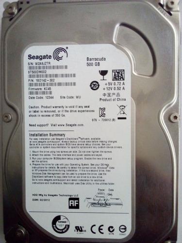 disco duro 500gb seagate barracuda