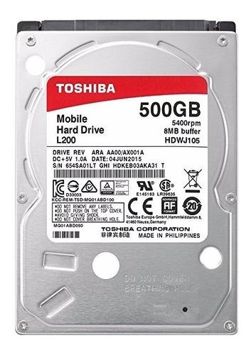 disco duro 500gb toshiba para laptop nuevo sellado